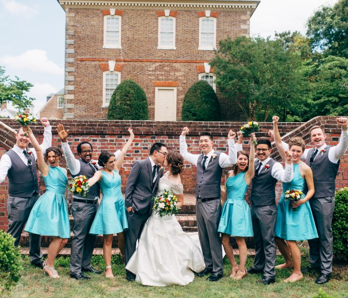 Alvin's 30th! {First Look and Bridal Party Photos}