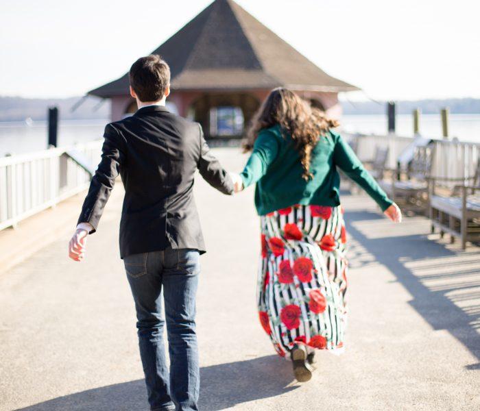 M&J | Engagement Session | Mt Vernon Wedding Photographer