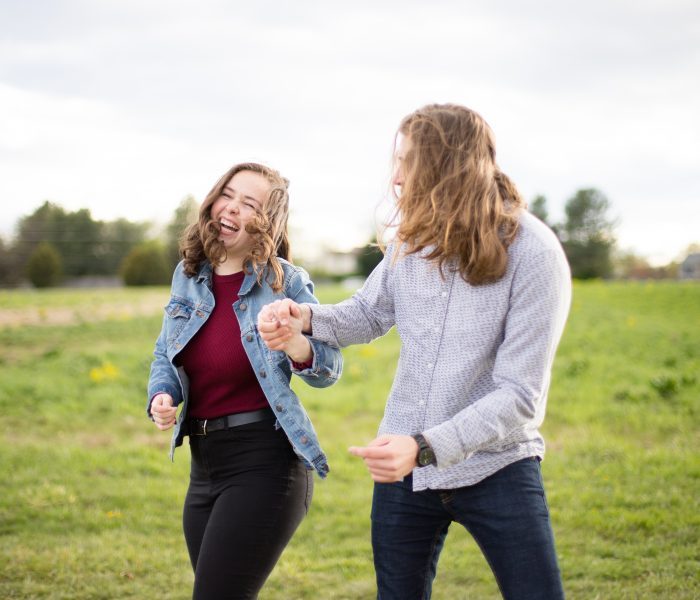 Danielle & Josh | Frying Pan Farm Park Engagement Session | NOVA Wedding Photographer