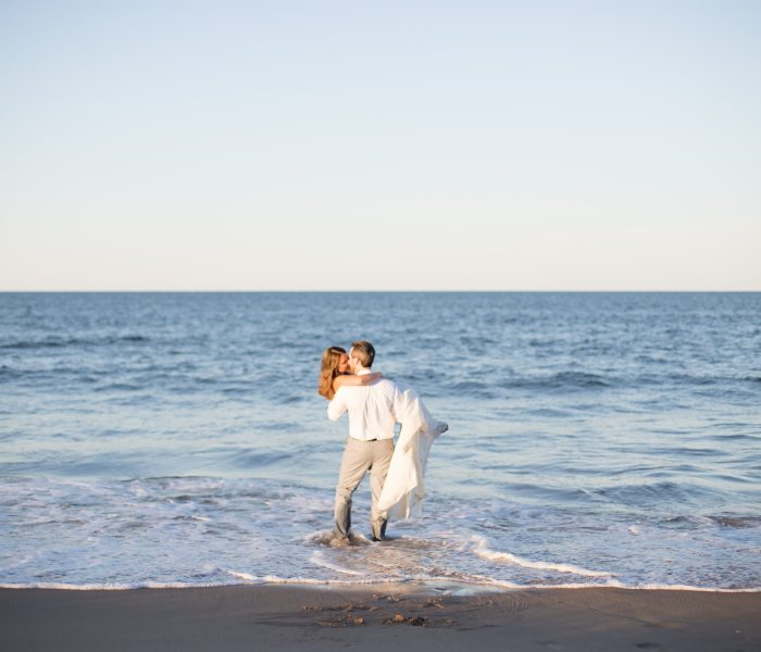 Grace & Ethan | Bridal Beach Session | Sandbridge Wedding Photographer