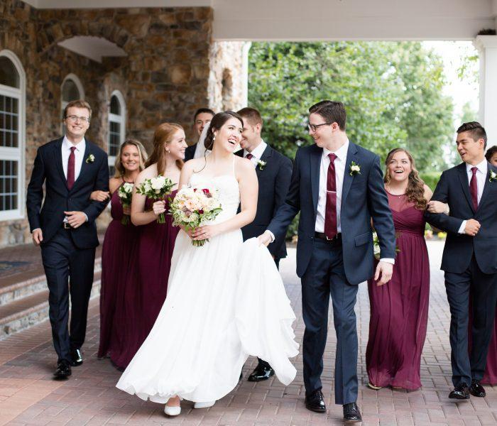 Monica & Matt | Piedmont Club | Haymarket Wedding Photographer