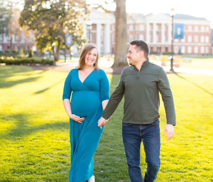 Brittany & Igor | Christopher Newport University Maternity Portraits| Newport News Maternity Photographer
