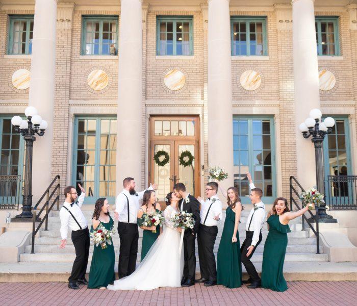 Mel & Dan | The Historic Post Office | Hampton Wedding Photographer