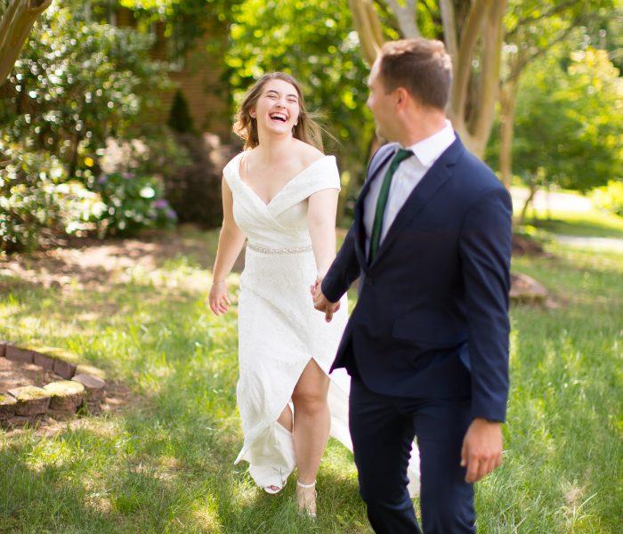 Hannah & Evan | Backyard COVID Wedding | Richmond Wedding Photographer
