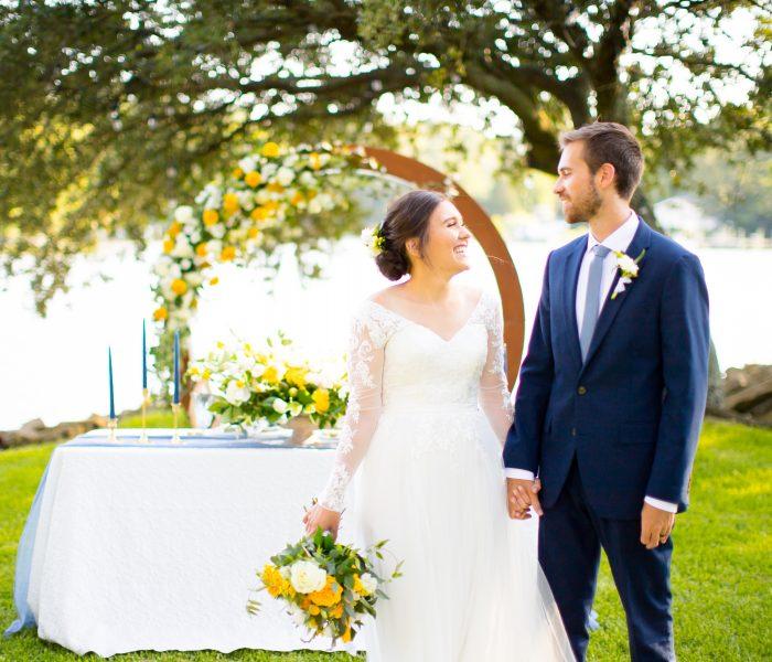 Yorktown Waterfront Backyard Wedding Styled Shoot | Part 1 | Yorktown Wedding Photographer