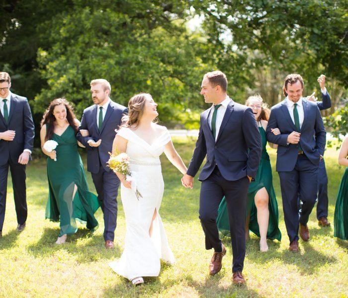 Hannah & Evan | Backyard Micro Wedding | Richmond Wedding Photographer