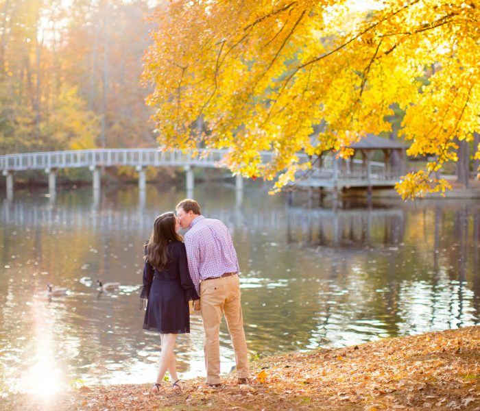 Caitlin & Ryan | University of Richmond and Monument Avenue Engagement | Richmond Wedding Photographer
