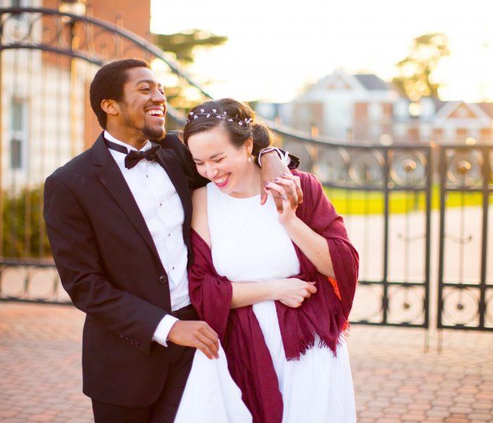 Maggie & Bryan | CNU and Lion's Bridge Elopement Portraits | Newport News Wedding Photographer