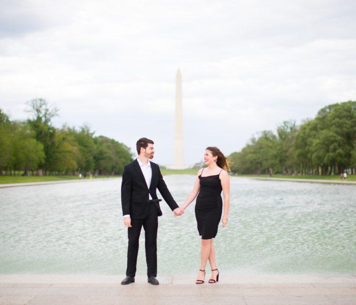 Katie & Mitch | Lincoln Memorial Engagement Session | Washington, DC Wedding Photographer