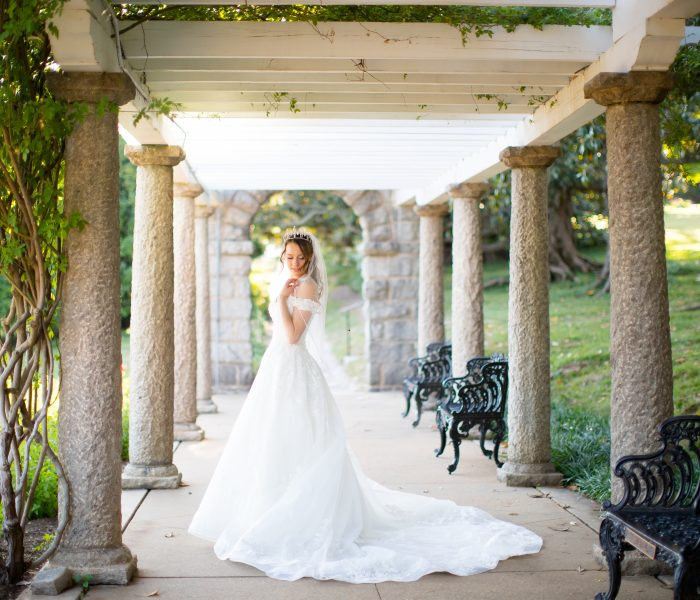 Katy Bridal Portraits   Maymont Bridal Session   Richmond Wedding Photographer
