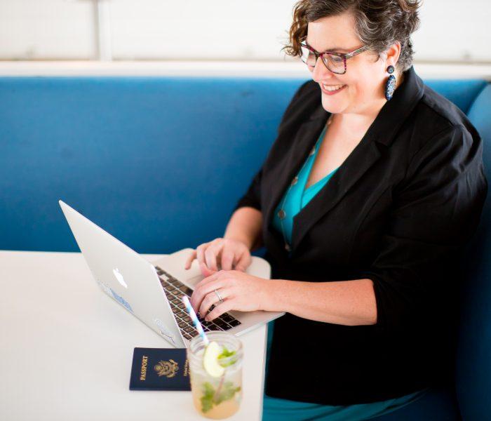 April Branding Session   Travel Mation Travel Agent   Virginia Beach Branding Photographer